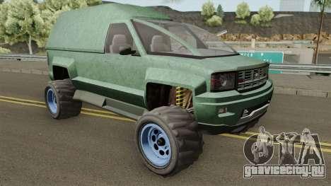 Declasse Brutus Stock GTA V IVF для GTA San Andreas