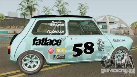 Mini Cooper S Gymkhana From Dirt: Showdown для GTA San Andreas