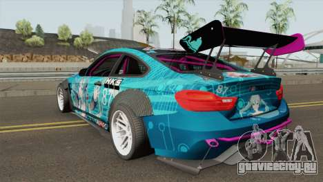 BMW M4 F82 Hatsune Miku для GTA San Andreas
