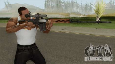Rekoil SVD Dragunov для GTA San Andreas
