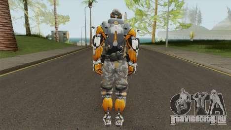 Cyborg 76 From Overwatch для GTA San Andreas