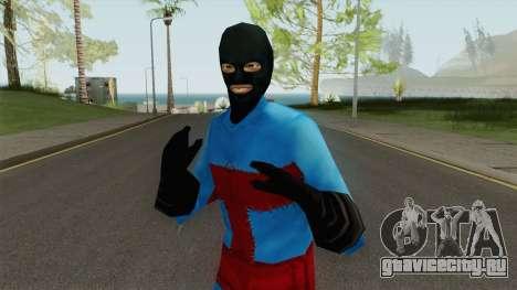 PS2 LCS Beta Toni Outfit 3 для GTA San Andreas