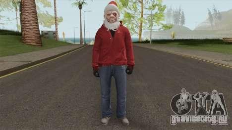 GTA Online Christmas Skin 2 для GTA San Andreas