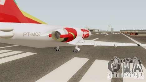 Fokker 100 TAM Airlines для GTA San Andreas