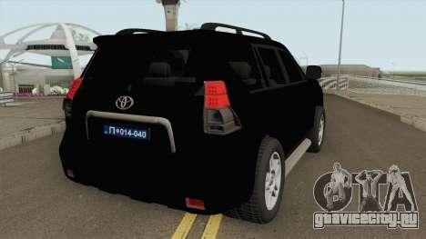 Toyota Land Cruiser J150 Zandarmerija для GTA San Andreas