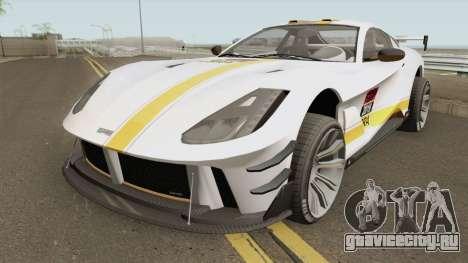 Grotti Itali GTO GTA V для GTA San Andreas