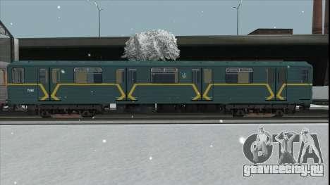 Метровагон Ема502 7182 Киев для GTA San Andreas