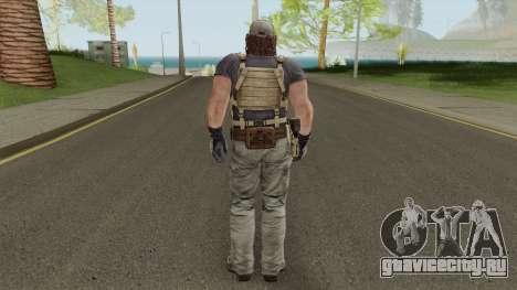 Parker Luciani From Resident Evil: Revelations для GTA San Andreas