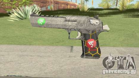 Desert Eagle (Special Troop) для GTA San Andreas
