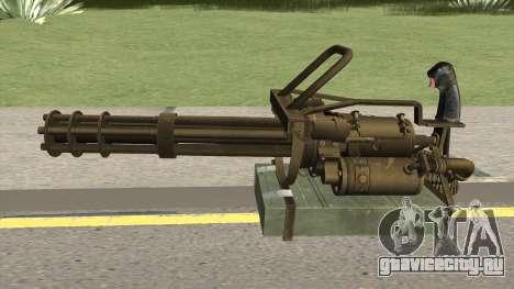 M-134 Minigun Desert Ops Camo для GTA San Andreas