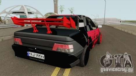 IKCO Peugeot 405 GLX Full-Tuning для GTA San Andreas