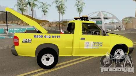 Chevrolet S10 Guincho Auto Pista Litoral Sul для GTA San Andreas