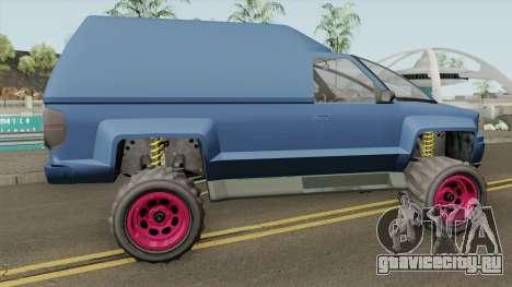 Declasse Brutus Cleaner GTA V IVF для GTA San Andreas