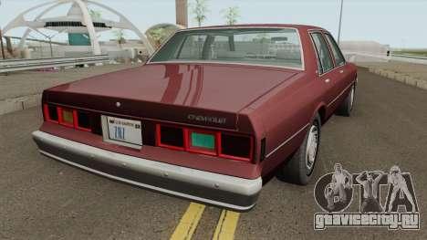 Chevrolet Impala (1980-1984) для GTA San Andreas