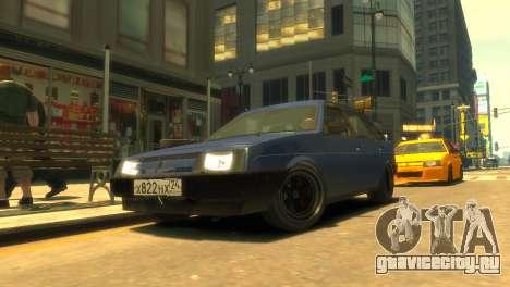 ВАЗ 2109 Короткокрылая v2 для GTA 4
