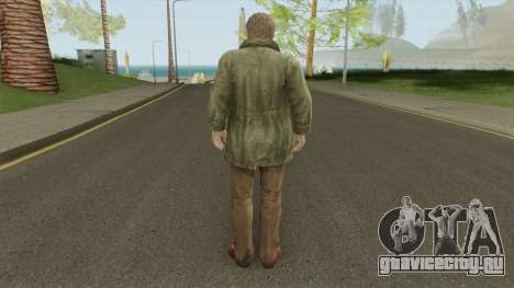 Clive O Brian From Resident Evil: Revelations для GTA San Andreas
