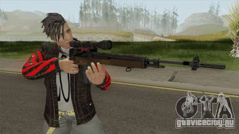 M14 Sniper HQ для GTA San Andreas