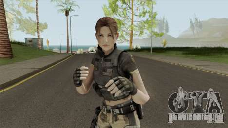 Keira Stokes from F.E.A.R. 2 для GTA San Andreas