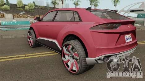 Pegassi Toros GTA V для GTA San Andreas