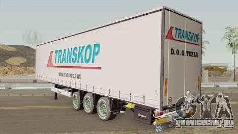TRANSKOP Trailer для GTA San Andreas