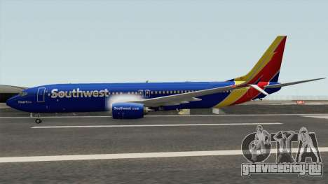 Boeing 737-800 Southwest Airlines (Heart Livery) для GTA San Andreas