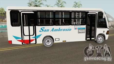 Metalpar Mercedes-Benz 809 для GTA San Andreas