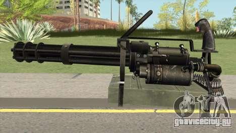 M-134 Minigun Black Ops Camo для GTA San Andreas