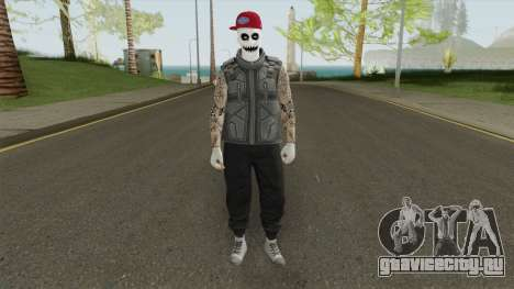 Skin GTA Online 2 для GTA San Andreas