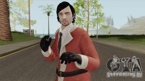 GTA Online Christmas Skin 1 для GTA San Andreas