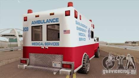 Ambulance From 70s для GTA San Andreas