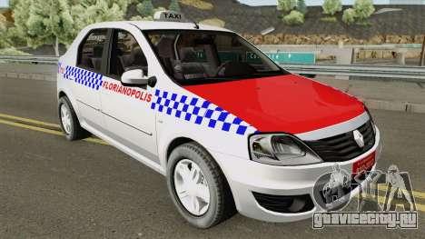 Renault Logan Taxi Florianopolis для GTA San Andreas