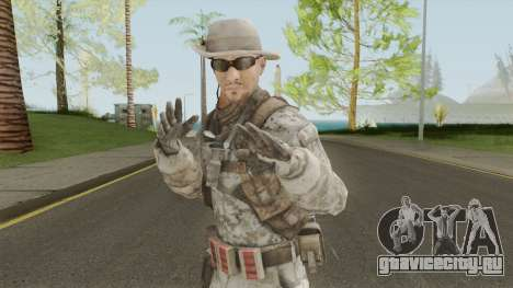 Skin 3 (Spec Ops: The Line - 33rd Infantry) для GTA San Andreas