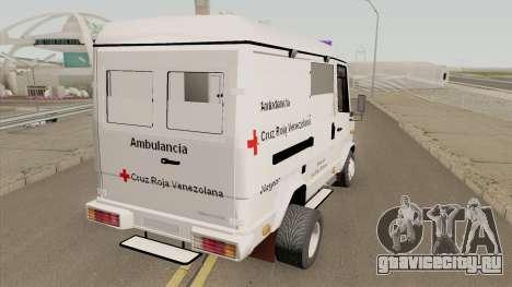 Mercedes-Benz Vario 512D Ambulancia Venezuela для GTA San Andreas