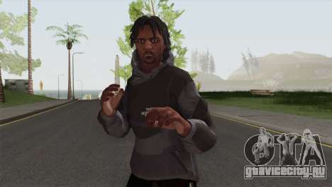 The North Face Black Guy для GTA San Andreas