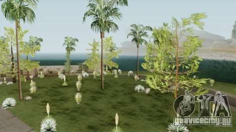Mobile Vegetation for PC для GTA San Andreas