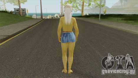 Misaki Denim Dress DoA5 для GTA San Andreas