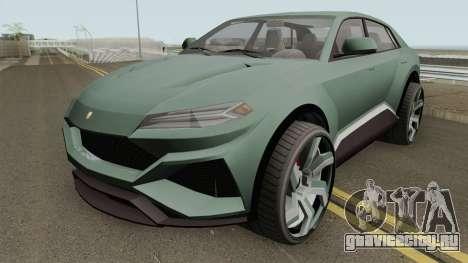 Pegassi Toros GTA V IVF для GTA San Andreas