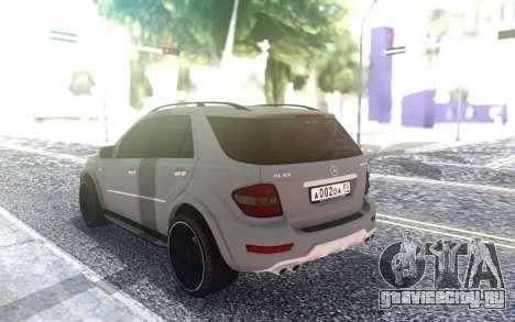 Mercedes-Benz ML 63 AMG для GTA San Andreas