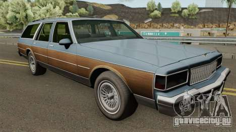 Chevrolet Caprice Classic Estate (1987-1989) для GTA San Andreas
