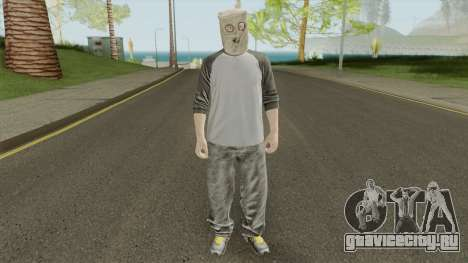 GTA Online Skin Male 2 для GTA San Andreas