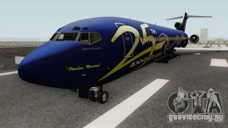 Boeing 727-200 American Trans Air для GTA San Andreas