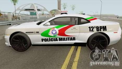 Chevrolet Camaro PMSC для GTA San Andreas