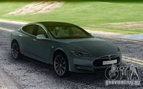 Tesla Model-S P90D для GTA San Andreas
