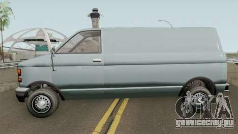 Declasse Burrito Civilian (1st Generation) GTA V для GTA San Andreas