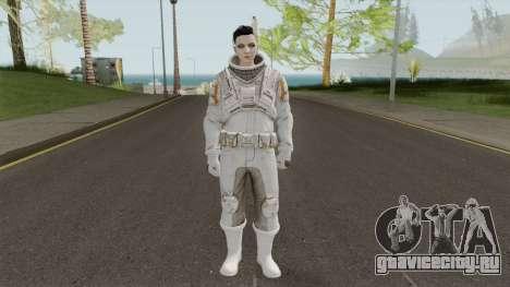 GTA Online: Arena Wars - White Astronaut для GTA San Andreas