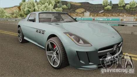 Benefactor Surano GT GTA V для GTA San Andreas