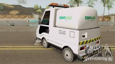 Sweeper Comcap Prefeitura De Flrianopolis для GTA San Andreas