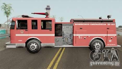 Firetruk Bombeiros SP (MG) для GTA San Andreas
