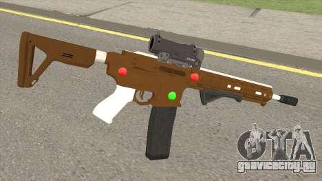 GTA Online: Carbine Rifle Mk.II Fruitcake для GTA San Andreas