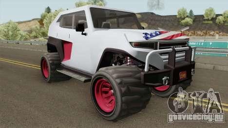 Canis Freecrawler GTA V IVF для GTA San Andreas